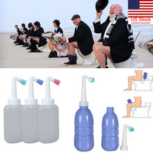 Random Color 450ml Portable Empty Bidet Bottle Handheld Travel Toilet Hand SpraySeat Water