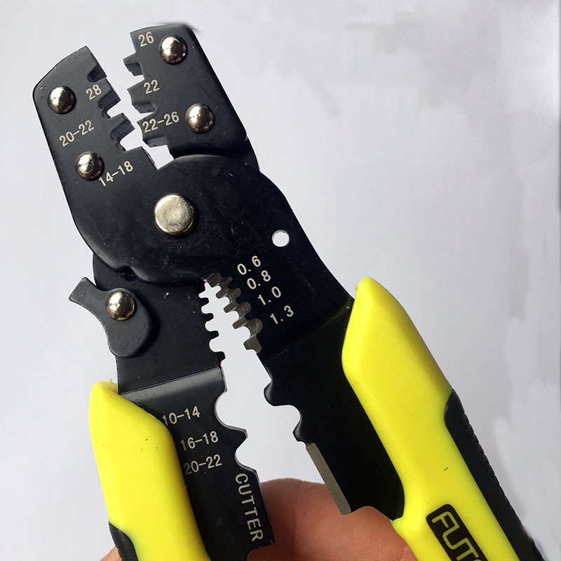 Multi functional Snap Ring Pliers Portable Hand Crimping Tool Plier Terminals Crimpper