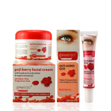 Anti aging moisturizing and whitening goji cream(China)
