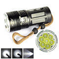 Super High power 9000 LM 7T6 7x CREE XM-L T6 LED Flashlight Torch Lamp 3 Modes 18650 170129