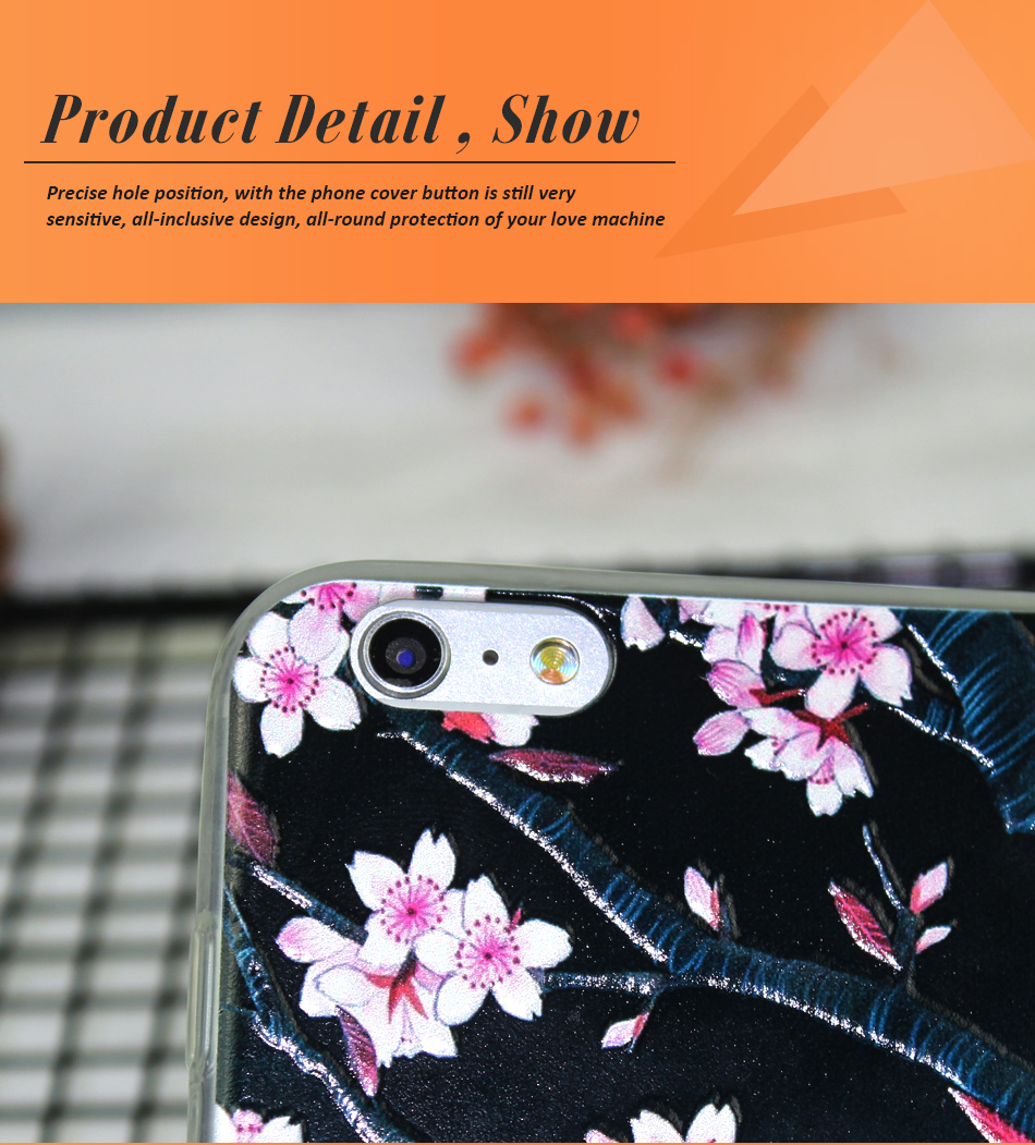 !ACCEZZ TPU Soft Cartoon 3D Protective Back Cover For Apple iphone 66s78 Plus Case Creative Patterned Phone Shell Funda Coque (6)