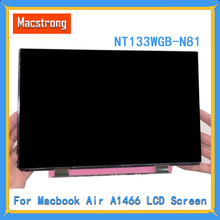 Оригинальный A1369 ЖК-дисплей Экран 2010-2015 для MacBook Air 13,3 «A1466 ЖК-дисплей Дисплей Панель NT133WGB-N81