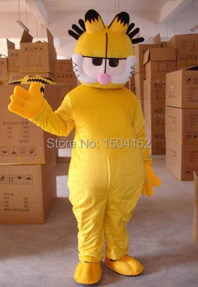 New coffee cat Panda Mascot Costume Fancy Dress Adult Suit Size free shipping
