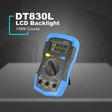 DT830L LCD Digital Multimeter Voltmeter Ammeter Ohmmeter AC/DC Volt LCD Tester Meter Electrical Tester