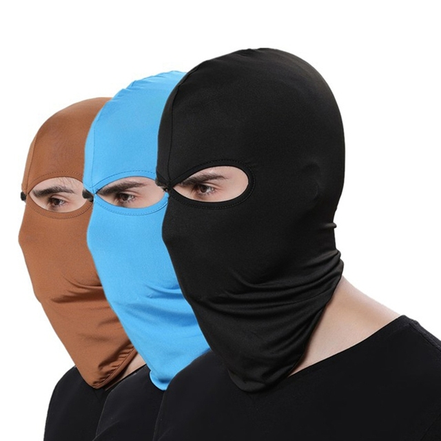 Outdoor Sports Neck Cycle Face Mask Winter Warm Ski Snowboard Wind Cap Police Cycling Balaclavas Face Mask
