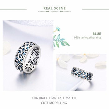 Petals of Love Blue CZ Ring1