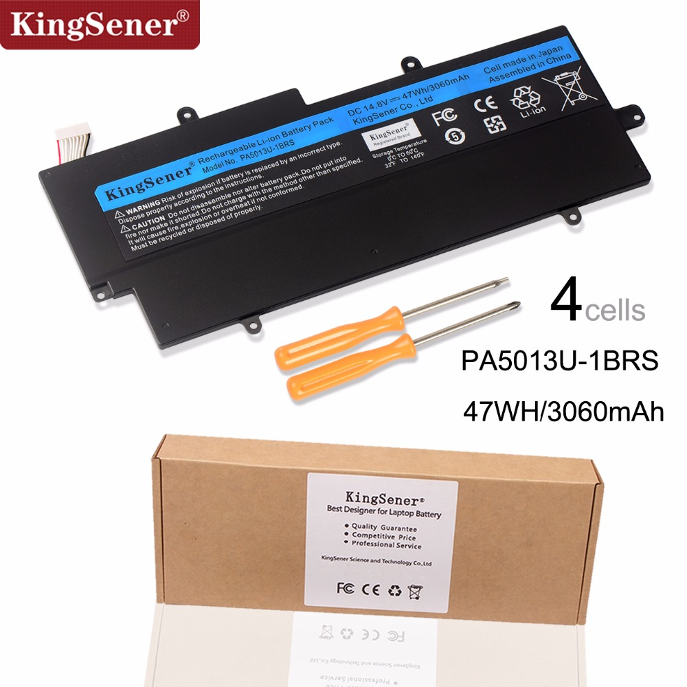 Japanese Cell PA5013U-1BRS PA5013U Battery for Toshiba Portege Z835 Z830 Z930 Z935 Ultrabook PA5013 14.8V 3060mAh With Free Tool 14 8v 47wh original laptop battery for toshiba z830 z835 z930 z935 pa5013u 1brs