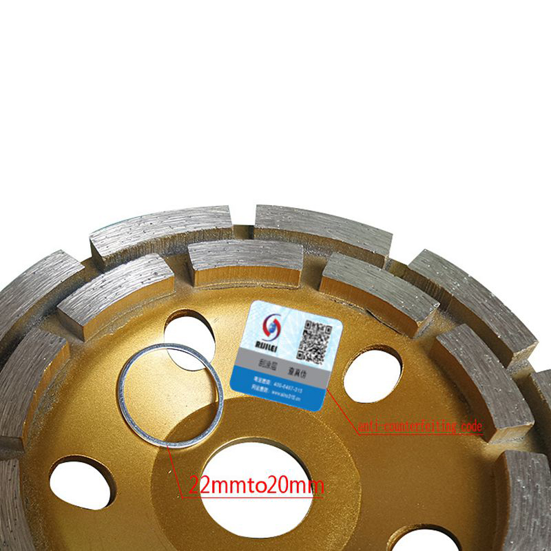 RIJILEI Disco diamantato a doppia corona da 5 pollici con disco - Utensili elettrici - Fotografia 2