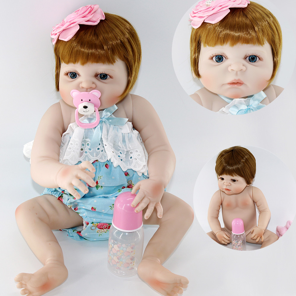 Baby reborn doll toys 2357cm full silicone reborn baby real dolls can bathe child gift toy dolls Bebes reborn bonecasBaby reborn doll toys 2357cm full silicone reborn baby real dolls can bathe child gift toy dolls Bebes reborn bonecas