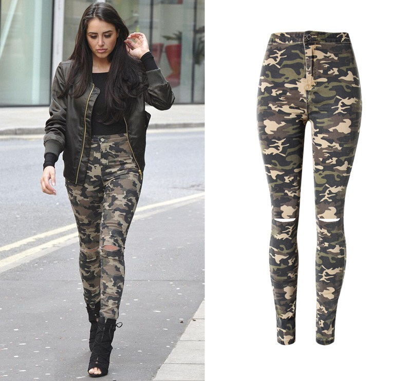 New Fashion Skinny Ripped Jeans 4