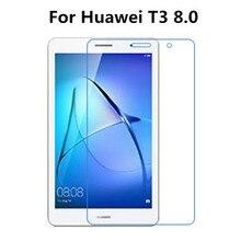 2 шт. закаленное Стекло Экран Защитная пленка для Huawei MediaPad T3 8,0 8 дюймов планшет+ спиртовая салфетка+ Стикеры для удаления пыли