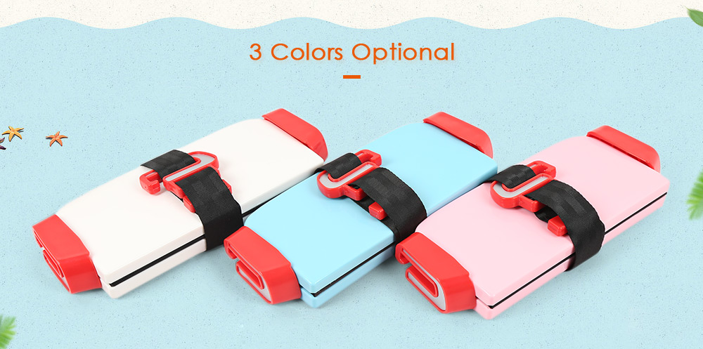 Portable Foldable Children Kids Safety Booster Car Seat Adjus ( (1)