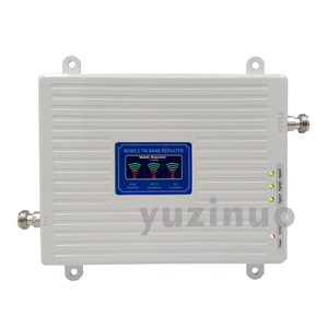 Image 3 - 2G 3G 4G Tri Band Booster GSM 900 + (B1) UMTS WCDMA 2100 + (B7) FDD LTE 2600 טלפון סלולרי משחזר 900 2100 2600 נייד אות מגבר