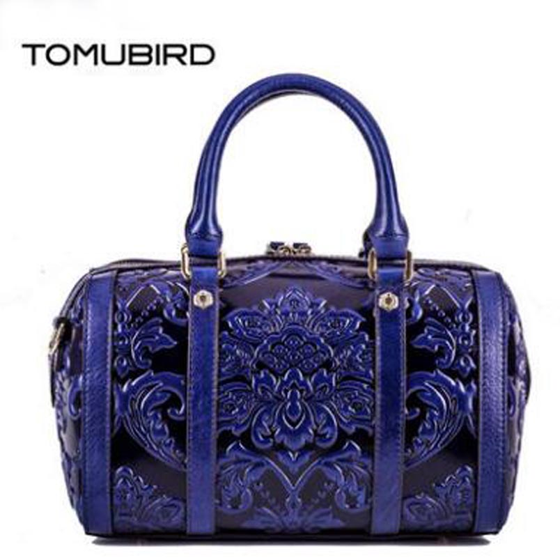 TOMUBIRD New Superior cowhide leather Designer famous brand embossed Pillow bag women bag fashion Tote women genuine leather bag tomubird new superior cowhide leather designer rose embossed famous brand women bag fashion tote women genuine leather bag
