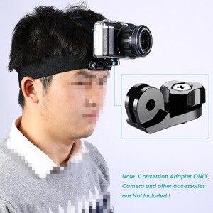 "Image 3 - 4 XUniversal 変換アダプタ 1/4 ""インチミニ三脚ネジの Gopro アクセサリー用ソニーと他のアクションカメラ"