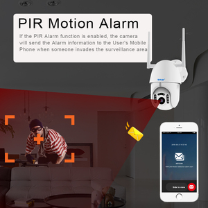 Image 3 - Akıllı WIFI kamera açık PTZ IP kamera H.265X 1080p hız CCTV güvenlik kameraları IP kamera WIFI dış 2MP IR ev gözetleme