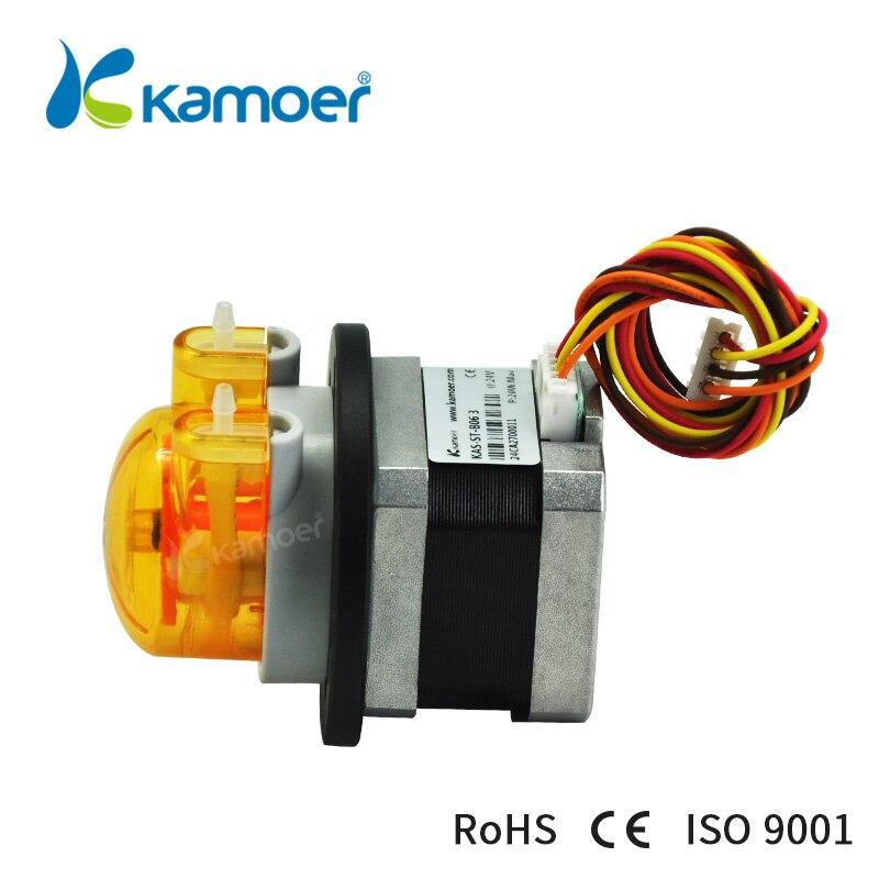 Kamoer 12v 24v Kas St Small Peristaltic Liquid Pump With Stepper Motor Free Shipping Transfer