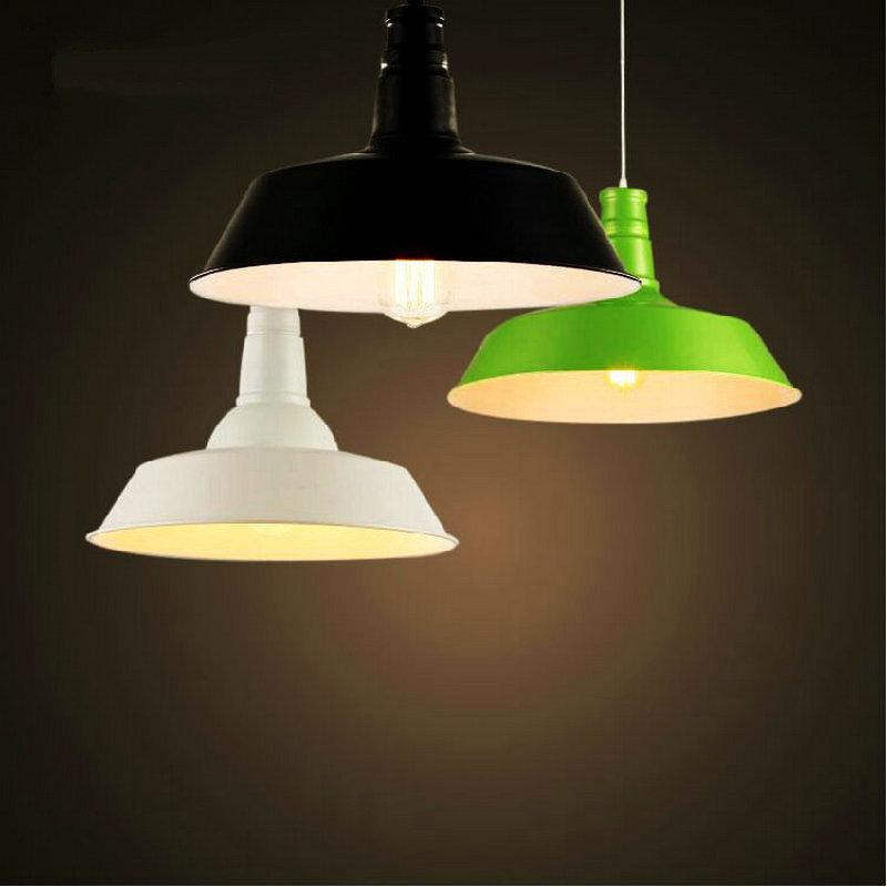 Diameter 26cm Warehouse Industrial Pendant Lamp Indoor