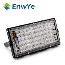 EnwYe 50 Вт идеальное питание светодио дный прожектор светодио дный уличный фонарь 220 В 240 В Водонепроницаемый ландшафтного освещения IP65 светодио дный spotlight
