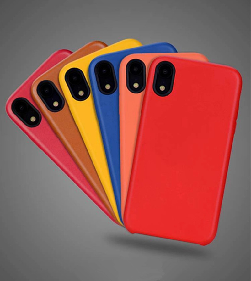 With Logo Original 1:1 Copy PU Leather case for new iphone XS 10 Hard Back Leather Official style Cover bag For iPhone XS Max XR