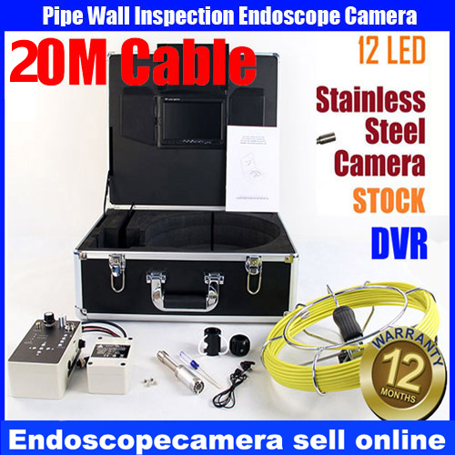 Drain Sewer Wall Cave Pipe Inspection DVR Camera Pipe Endoscope Borescope 20m/50m Cable,Pipeline Sewage Snake Camera drain sewer wall cave pipe inspection dvr camera pipe endoscope borescope 20m 50m cable pipeline sewage snake camera