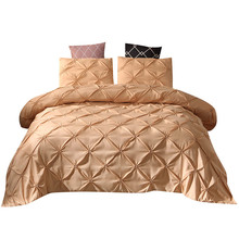 New Bedding Quilt Cover And Pillowcase 3D Printed marble Headfull Size Three pie  great house warming gift modern dreaming stars