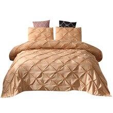 Nueva ropa de cama, funda de edredón y funda de almohada con estampado en 3D de mármol, tamaño grande de tres pies, gran casa, regalo cálido, estrellas de ensueño modernas