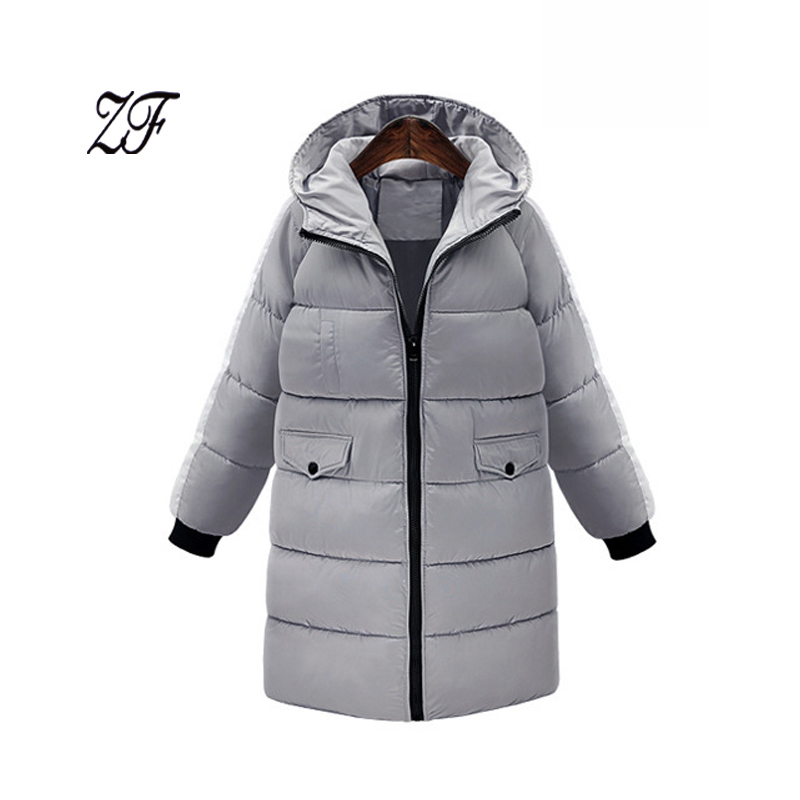 ФОТО Europe 2016 New Fashion Winter Women's Hooded Long Sleeved Cotton padded Jackets thickened woman's loose Cotton padded coat