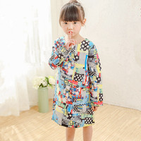 1 12Y Autumn Winter Girls Dress Toddler Vestidos Kids Clothes Casual O Neck Baby Girl Dresses
