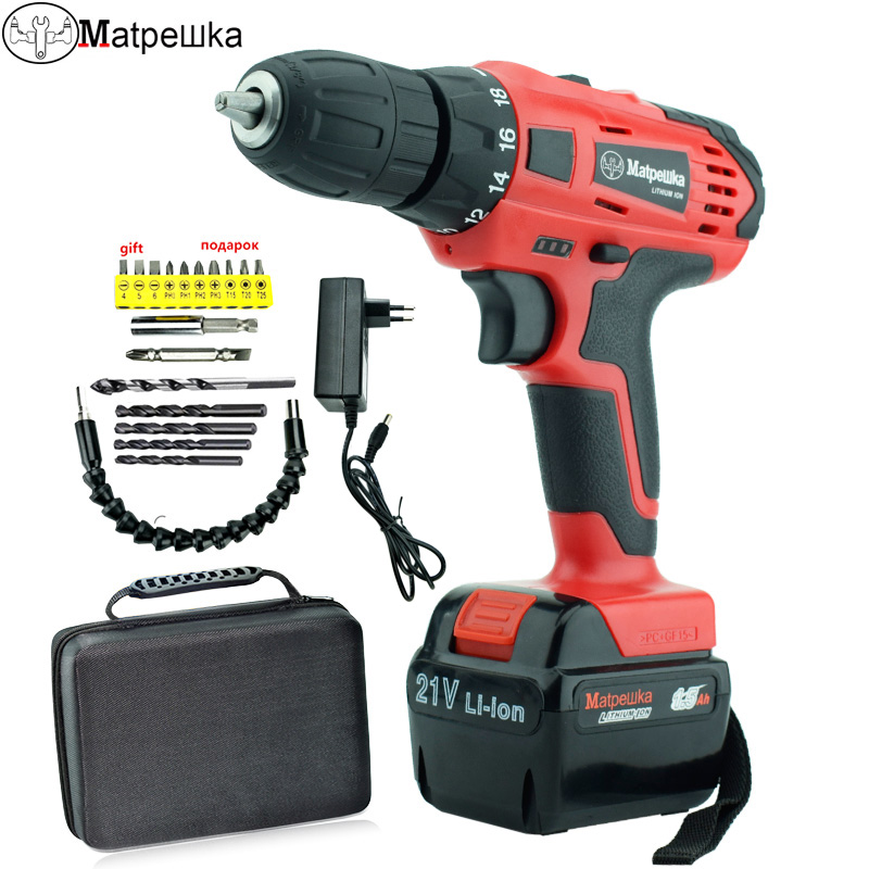 21v rechargeable screwdriver battery mini electric screwdriver power tools concrete core drill Cordless mini electric drill free shipping brand proskit upt 32007d frequency modulated electric screwdriver 2 electric screwdriver bit 900 1300rpm tools