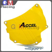 Motorcycle Plastic Clutch Guard Cover Protector For SUZUKI RMZ450 RMZ 450 2011 2012 2013 2014 2015 2016 Dirt Bike Motocross