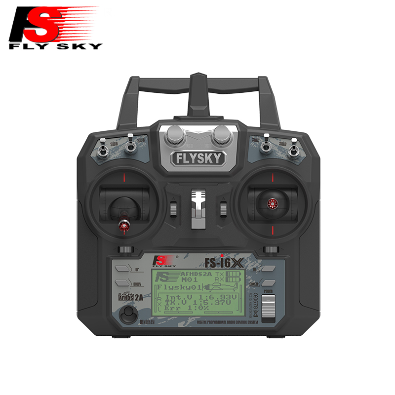 Flysky FS-i6X FS I6X 2.4g RC Émetteur Contrôleur iA10B 10CH/iA6B 6CH/X6B I-BUS Récepteur i6 mise à niveau pour Hélicoptère RC Mu