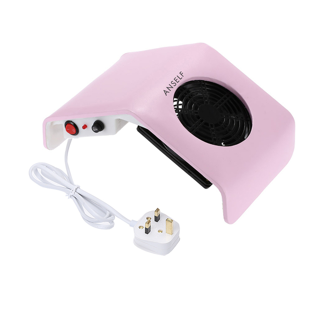 Anself Pro Salon Nail Dust Collector 30w Strong Fan Art Tool Vacuum Cleaner Suction