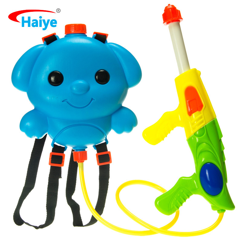 Child Water Gun Toy Backpack Beach Pull Type Adult High Pressure Water Spaying Tool Boys And Girls Toys Gifts