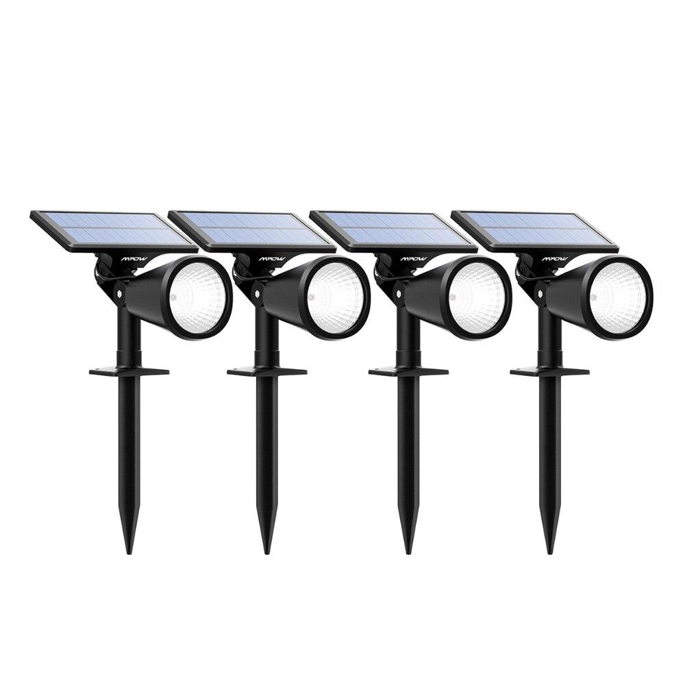 Mpow 4pcs Lawn Lamps Solar Lights 2-in-1 Adjustable Waterproof Solar spotlight (9)