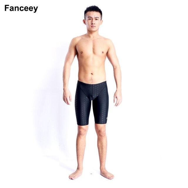 ec9ee55243 Free Shipping High Quality Fastskin Male Boys Professional swim trunks men  boxer surfing shorts men's swimming briefs
