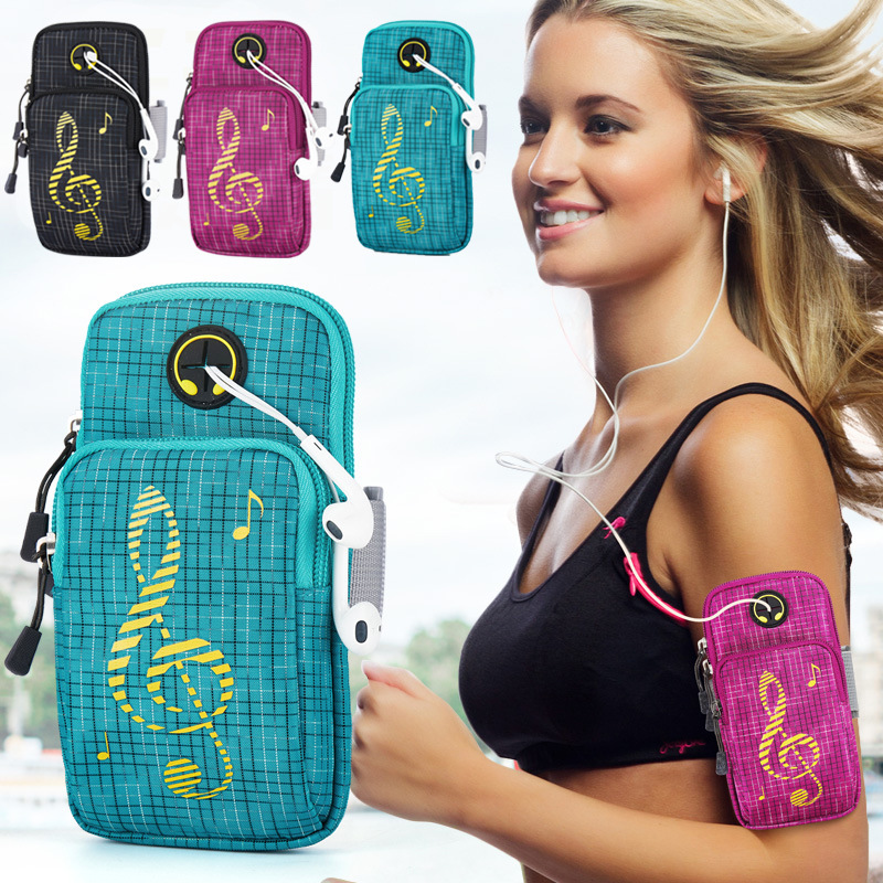 6inches Running Bag with Earphone Hole Jogging Gym Running Armband Bag Mobile Phone Pouch Holder Outdoor Sport Fitness Wrist Bag6inches Running Bag with Earphone Hole Jogging Gym Running Armband Bag Mobile Phone Pouch Holder Outdoor Sport Fitness Wrist Bag