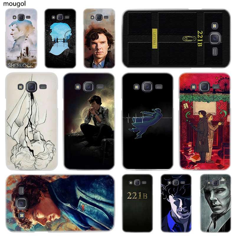 Half-wrapped Case Capable Sherlock Tardis Doctor Who Phone Cases For Samsung Galaxy J4 J5 J6 Plus J2 J3 J4 J8 2018 J5 J7 Prime Hard Cover Cases Coque Cellphones & Telecommunications