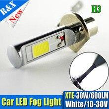 1pcs H1 H3 H7 H8 H11 HB4 LED 80W COB White cars Fog lights Daytime Running Bulb auto Lamp Vehicles led high power parking light