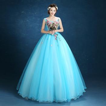 Vestidos De Niña Bordados De 15 Anos Con Cristales Vestido