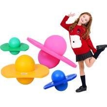 цена на Energetic Exercise Jumping Bounce Yoga Fitness Ball Rock Hopper Pogo High Bounce Space Balance Jump Board Ball Jumping Toy Balls