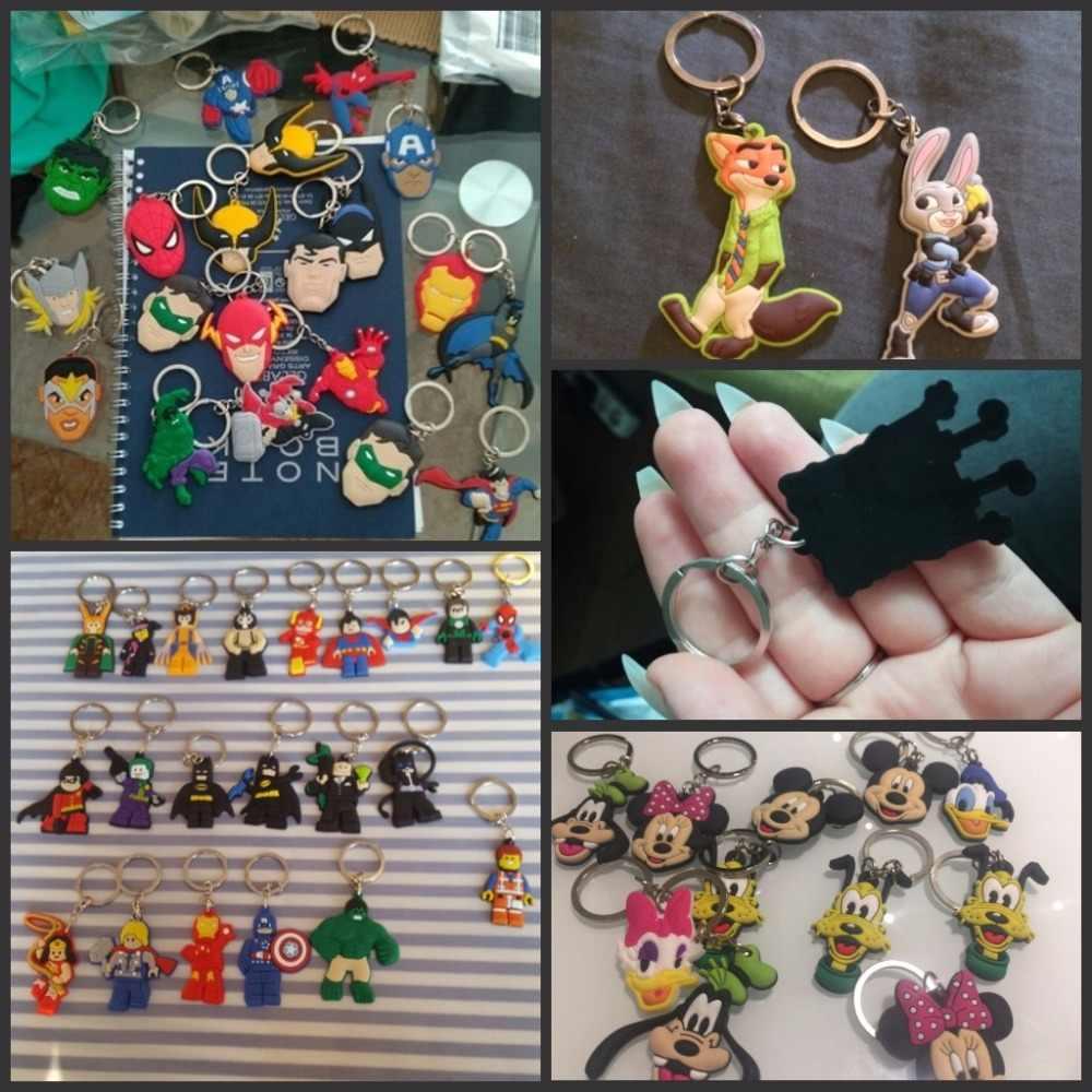 8 шт конек мультфильм брелок ПВХ аниме Рисунок брелок детские игрушки брелок держатель моды брелок подарок женщине мешки Декор