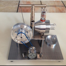 Sterling engine, Stirling generator, physical toy steam engine