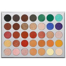 Beauty Glazed Cosmetic MakeUp Eyeshadow Palette Color Eyeshadow Palette Matte Eye Shadow Palette Nude Shadow Palette Maquiagem serseul portable 78 color cosmetic makeup eye shadow blusher palette with smudger
