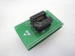Opentop TSSOP48/DIP48 OTS-48-0.5-02 ENPLAS IC spalania siedzenia Adapter testowania miejsce badania gniazdo stanowiska do badań w magazynie