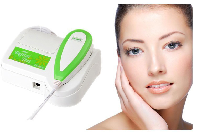 Facial Skin Analyzer Detector Brand HD 5 0 MP Resolution 3D Skin Scanner Diagnosis Analyzer for