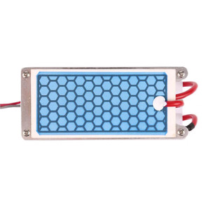 Image 2 - 220V/110V 10g Portable Ceramic Ozone Generator Double Integrated Long Life Ceramic Plate ozonator air Water Cleaner Air Purifier