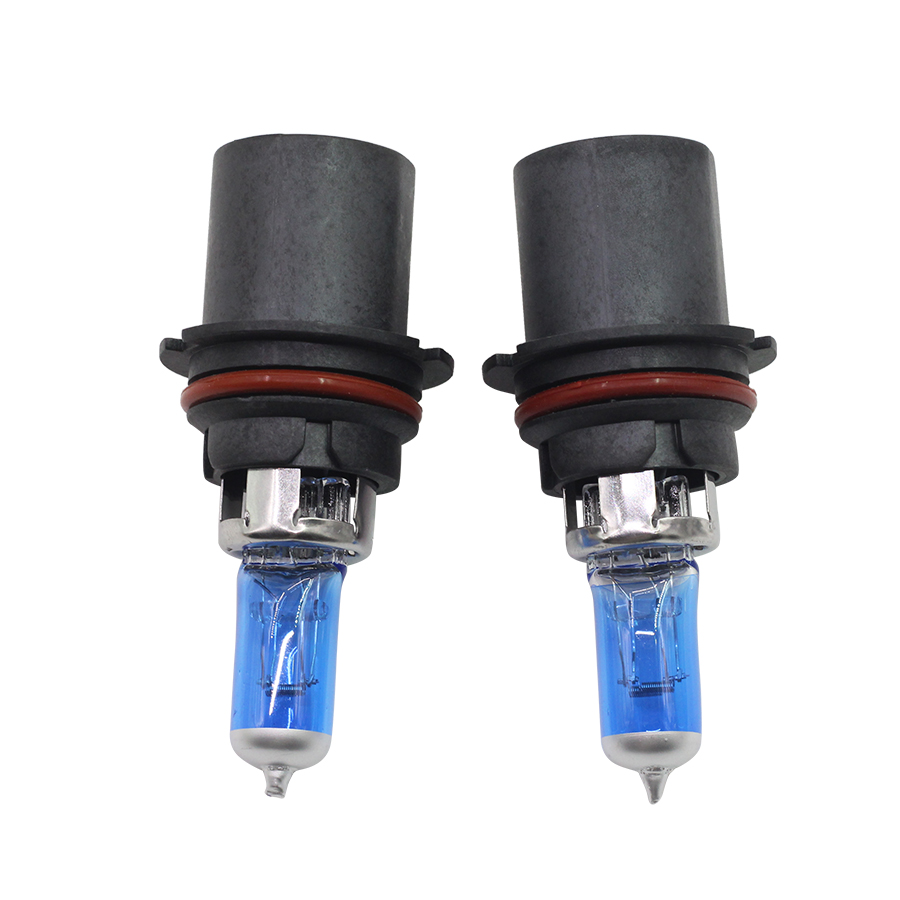Cawanerl 4 X 100w 9004 9007 Halogen Bulb 12v 4300k Warm White For 1988 Mustang Fuel Pump Ford 1993 Car Light Headlight High Low Beam In Assembly From