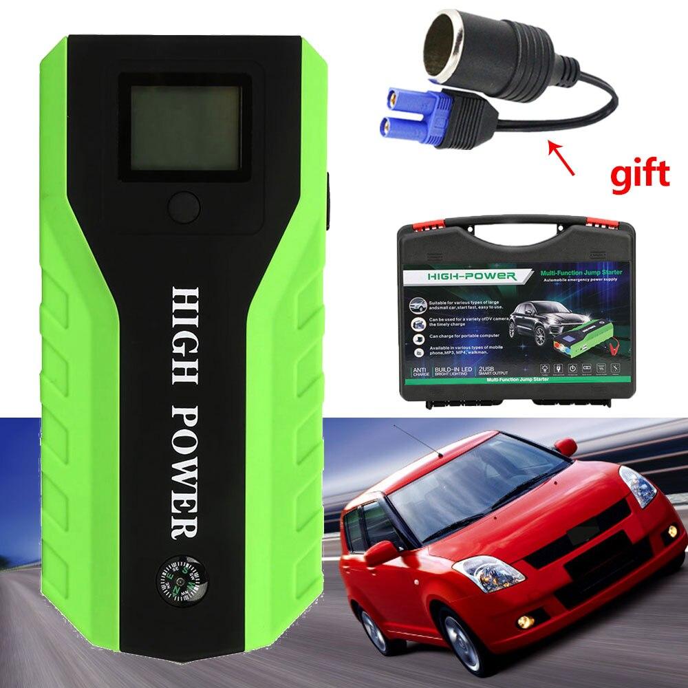 Dispositif de démarrage d'urgence 89800 mAh 12 V Portable Auto voiture Jumper démarreur haute puissance chargeur de voiture pour voiture batterie Booster démarreur