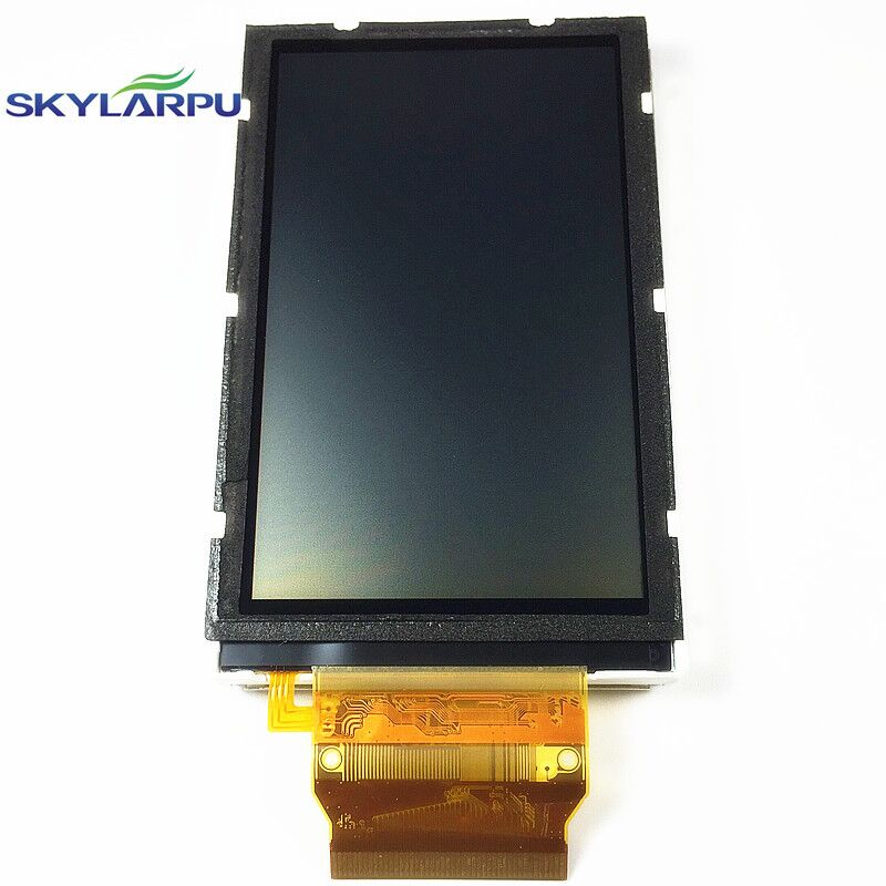 skylarpu 3 inch LCD For GARMIN OREGON 500 500t Handheld GPS LCD display screen without touch screen Free shipping skylarpu 2 2 inch lcd screen module replacement for lq022b8ud05 lq022b8ud04 for garmin gps without touch
